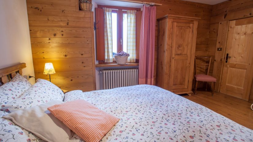 Double room with views of Mont Blanc